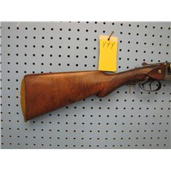 yyy... unknown shotgun 12 gauge Belgian proof marks double barrel small chip in fore stock