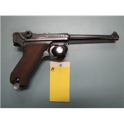 A... RESTRICTED... Luger P08 1939 Mauser S / 42 semi automatic 9 mm calibre barrel length 150 mm gun