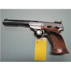D... RESTRICTED... Browning arms 22 calibre semi-auto target pistol made in Belgium