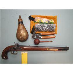 H... RESTRIC... P. Bondini .44 cal cap & ball 432mm barrel