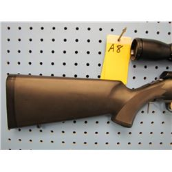 a8... Browning a bolt Calibre 223 bolt action clip synthetic stock made in Japan comes with 3 to 9 b