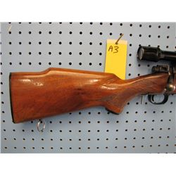 a3... Winchester model 70 bolt action floor plate 308 win caliber comes with Bushnell custom 4x scop