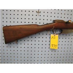 a2... Hemburg 1915 military rifle bolt action internal clip full wood