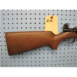 a16... Winchester Model 75 bolt action clip 22 long rifle Lyman number 58 site Globe front sight