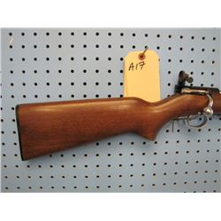 a17... Winchester model 69a bolt action clip 22 short long or long rifle Lyman sight