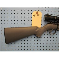 a19... Stevens model 305 bolt action Calibre 22 wmr only made by Savage Arms Bushnell 3 - 9 scope sy