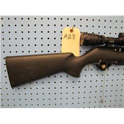 a23... Remington model 597 Magnum Semi Auto two clips 22 Win Mag Polly stock Redfield 3 - 9 by 42 sc