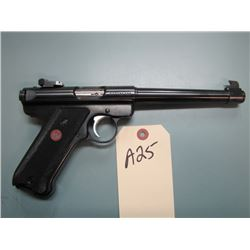 a25... RESTRICTED Ruger Mark III Target 22 long rifle with two clips and case