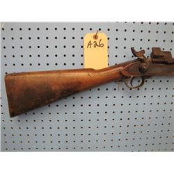 a26... 1863 Enfield converted from Muzzleloader to cartridge seized for parts only