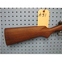 a31... Savage Model 3C bolt action single shot 22 calibre