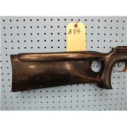 a34... Cooey Model 600 bolt action tube magazine 22 calibre not the proper stock gun is very Rusty i