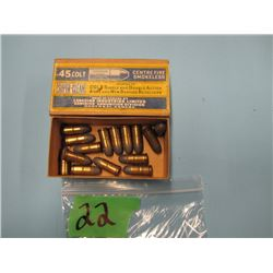 collector box Cil 45 Colt 15 rounds
