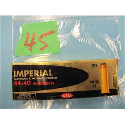 Imperial 4440 Winchester ammunition