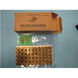 box Winchester 44 - 40 ammunition