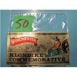 box Winchester 3030 Klondike commemorative