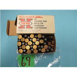 box Winchester 38 - 40 ammunition 44 rounds