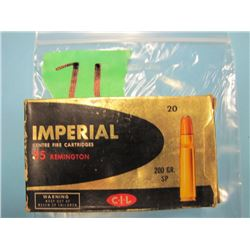 box Imperial 35 Remington 19 rounds