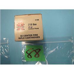 box 218 bee Western Super X ammunition