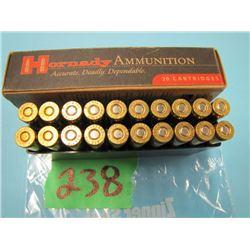 box of 6 mm Remington ammunition