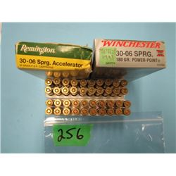 lot of 40 rounds 30  06 ammunition