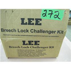 Lee breech lock Challenger kit for reloading
