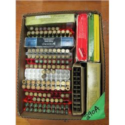 box with miscellaneous 30 - 06, 243, 270 brass