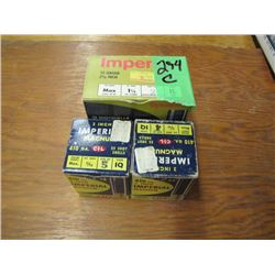 lot of one box 12 gauge and two boxes 410 gauge ammo