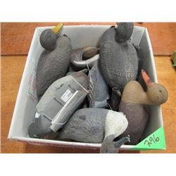 lot of 11 duck decoys
