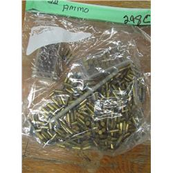 bag of 22 ammunition unknown count