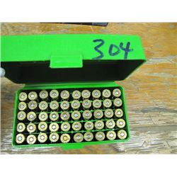 case Gard with 50 rounds 243 reload ammo