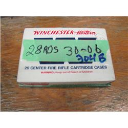 lot of 28 rounds 30 - 06 reload ammo
