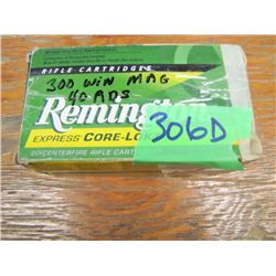 lot of 40 rounds 300 Win Mag reloads