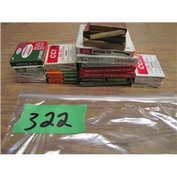 lot of assorted primers