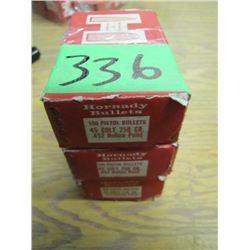 lot of three boxes 45 Colt 2 seem full 1 part box