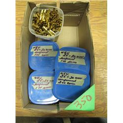 lot of 2520 win brass approximately 400 count