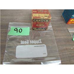 collector box Canuk 410 ammo