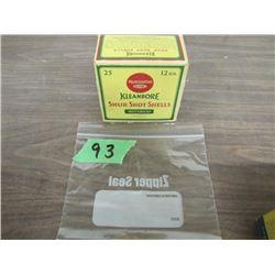 collector box Remington kleanbore 12 gauge