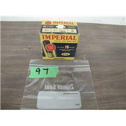 collector box Cil 16 gauge ammo