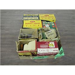 lot of collector boxes misc gage ammo all part boxes