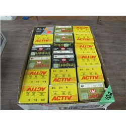 box of 18 boxes of 20 gauge ammo