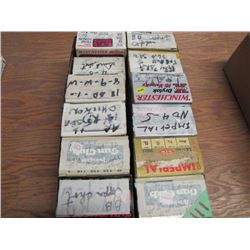 lot of 12 boxes 12 gauge reload