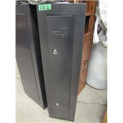 homak 6 gun steel cabinet two keys