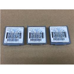 (3) ALLIED AMEC 153T-0122-SP SPADE DRILL INSERT