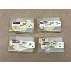 (4) STELLRAM SB-2338 SP9530 SPADE DRILL INSERT