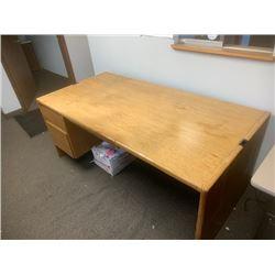 Wood Desk 70x34x30