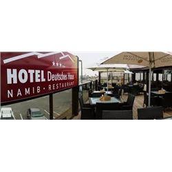 Dinner at the Namib Restaurant at Hotel Deutsches Haus