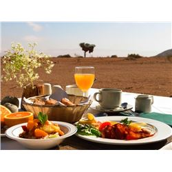 A 2-nights stay at the Namib Naukluft Lodge or Soft Adventure Camp for 2 people
