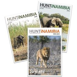 Advertisement in the 2020 edition of the exclusive HuntiNamibia magazine