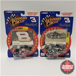 2 Winners Circle Nascar : #8 GM Goodwrench Performance Parts Chevrolet Nova (1/64th Scale)  &  #3 GM