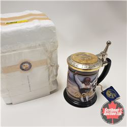 "Franklin Mint Dale Earnhardt ""Winner Circle"" Collector Tankard"